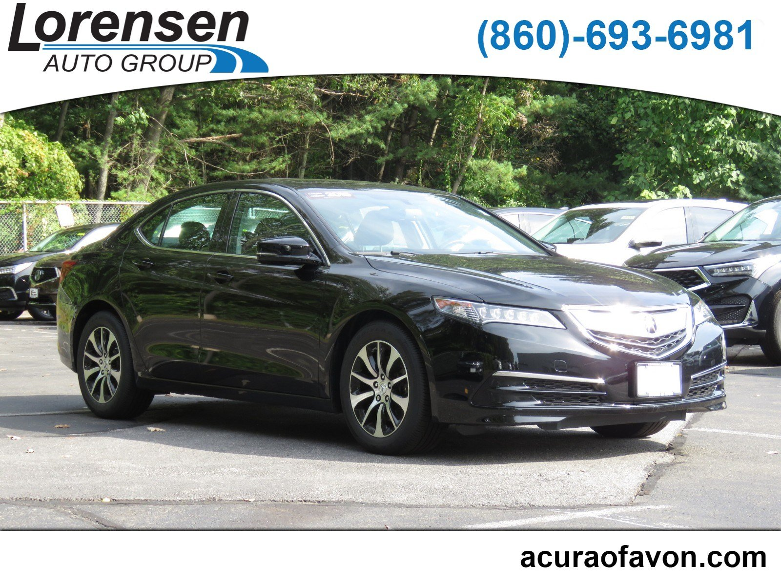 Pre Owned 2015 Acura TLX 4dr Sdn FWD 4dr Car in Westbrook 4103