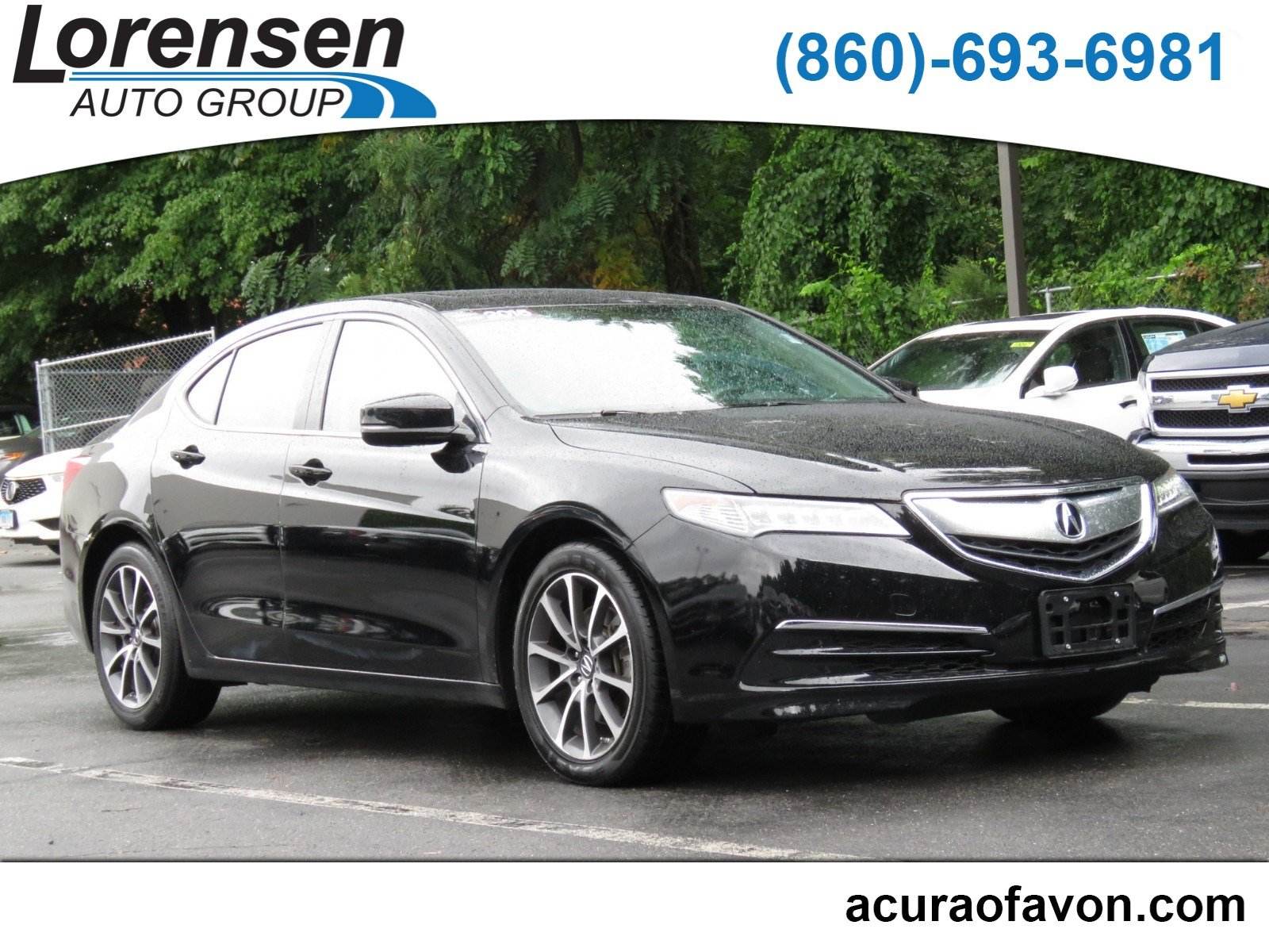 Pre Owned 2015 Acura TLX V6 Tech 4dr Car in Westbrook 4130
