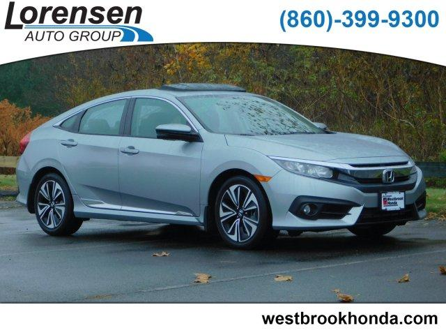 Certified Pre-Owned 2016 Honda Civic 4dr CVT EX-L
