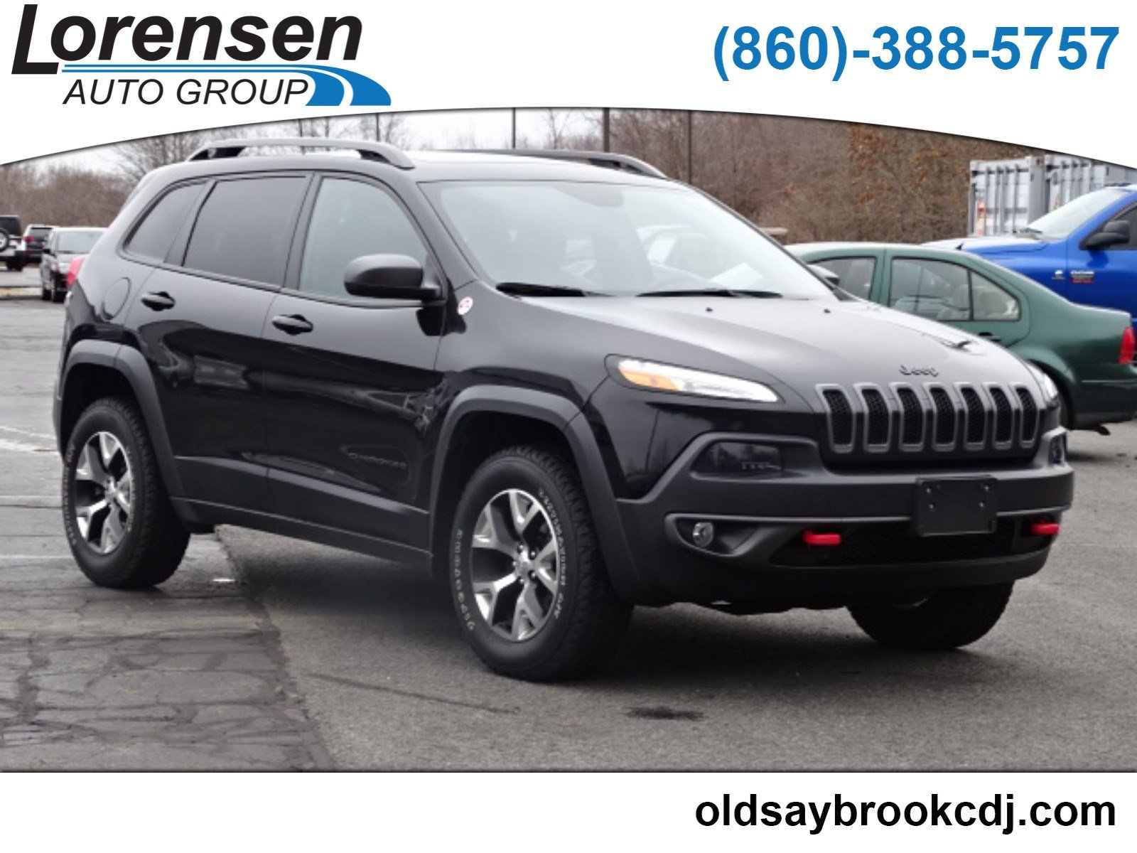 Pre Owned 2016 Jeep Cherokee Trailhawk Sport Utility In Westbrook 1543 Honda