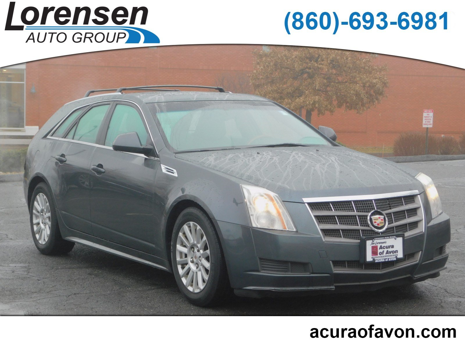 Pre-Owned 2010 Cadillac CTS Wagon Luxury