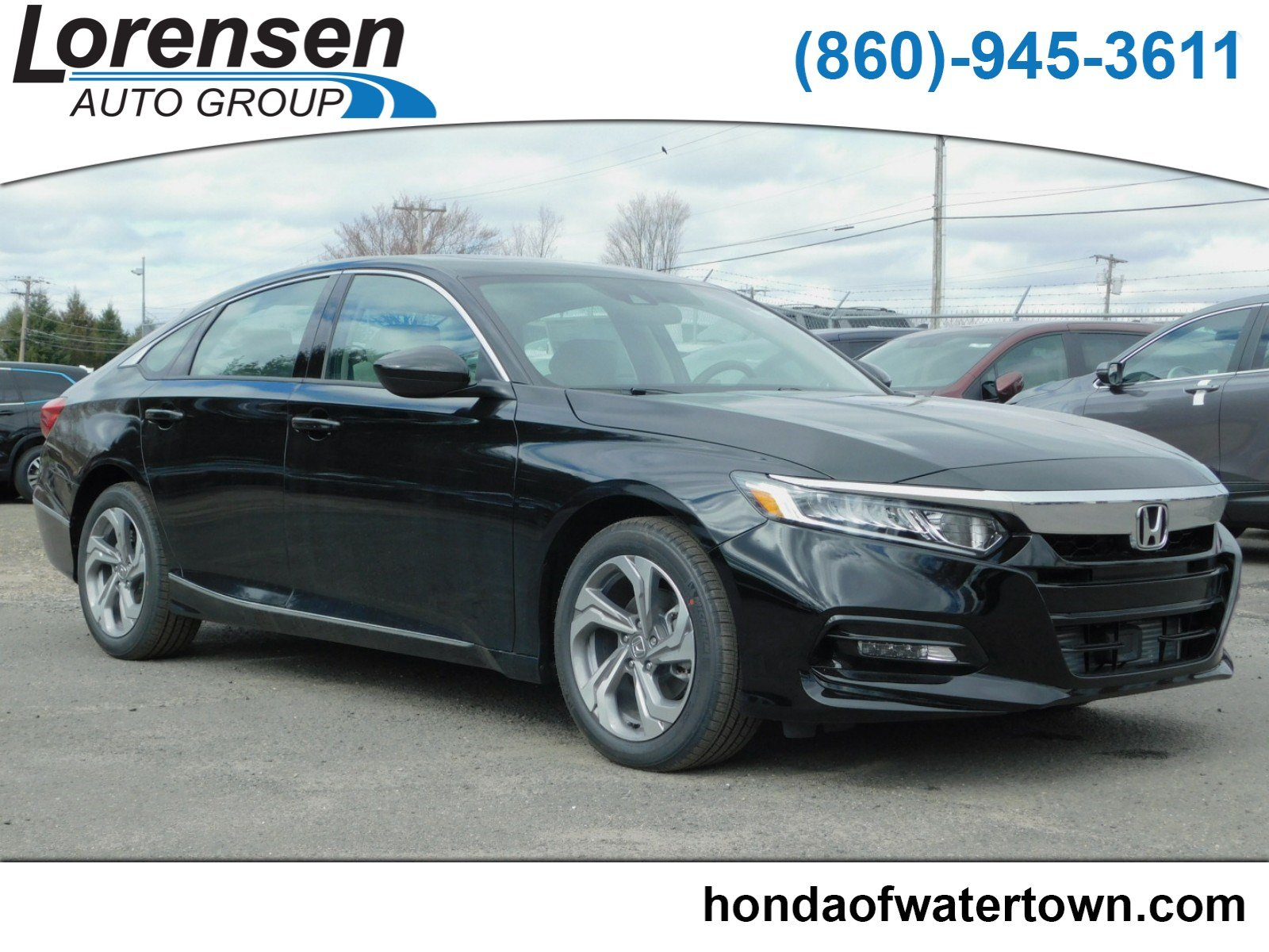 New 2018 Honda Accord Sedan EX 4dr Car in Westbrook