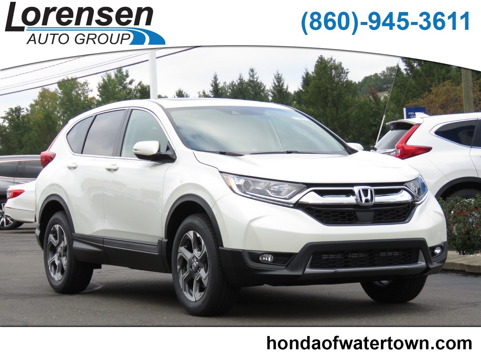 New 2018 Honda CR V EX