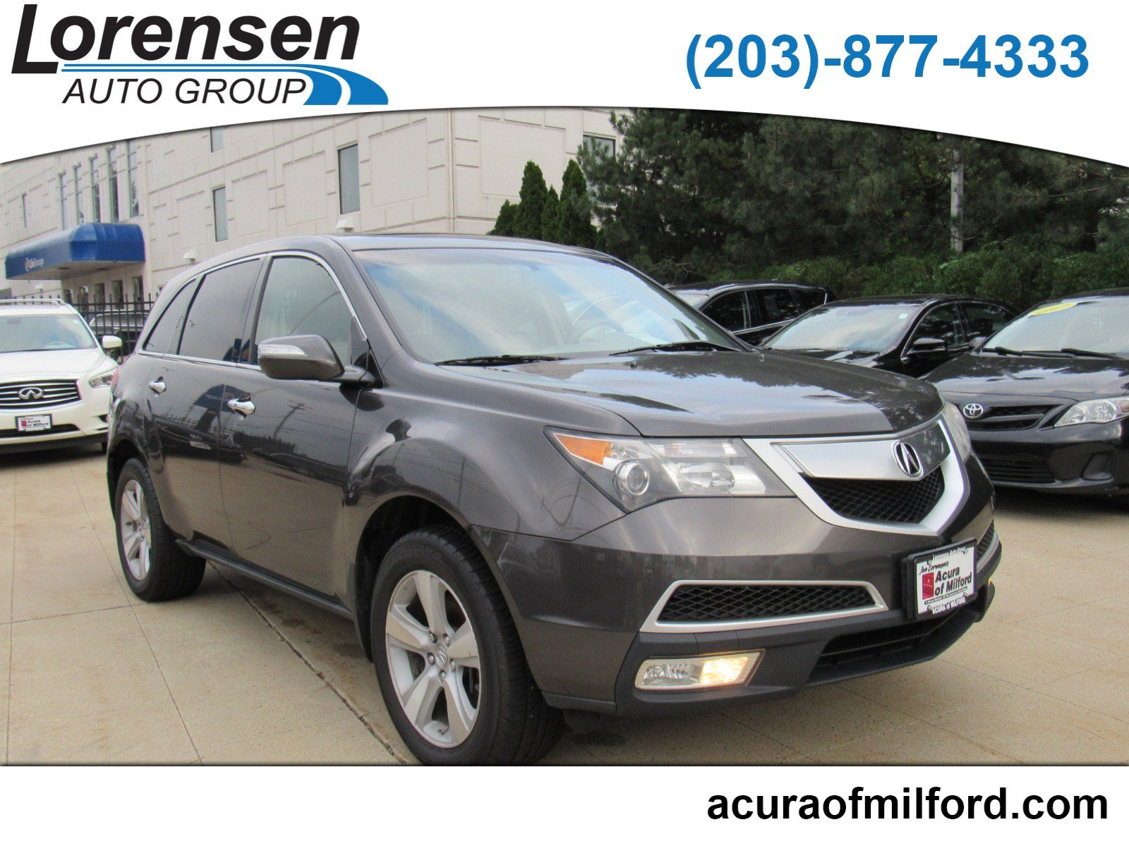 Pre Owned 2010 Acura MDX Sport Utility in Westbrook 3641X