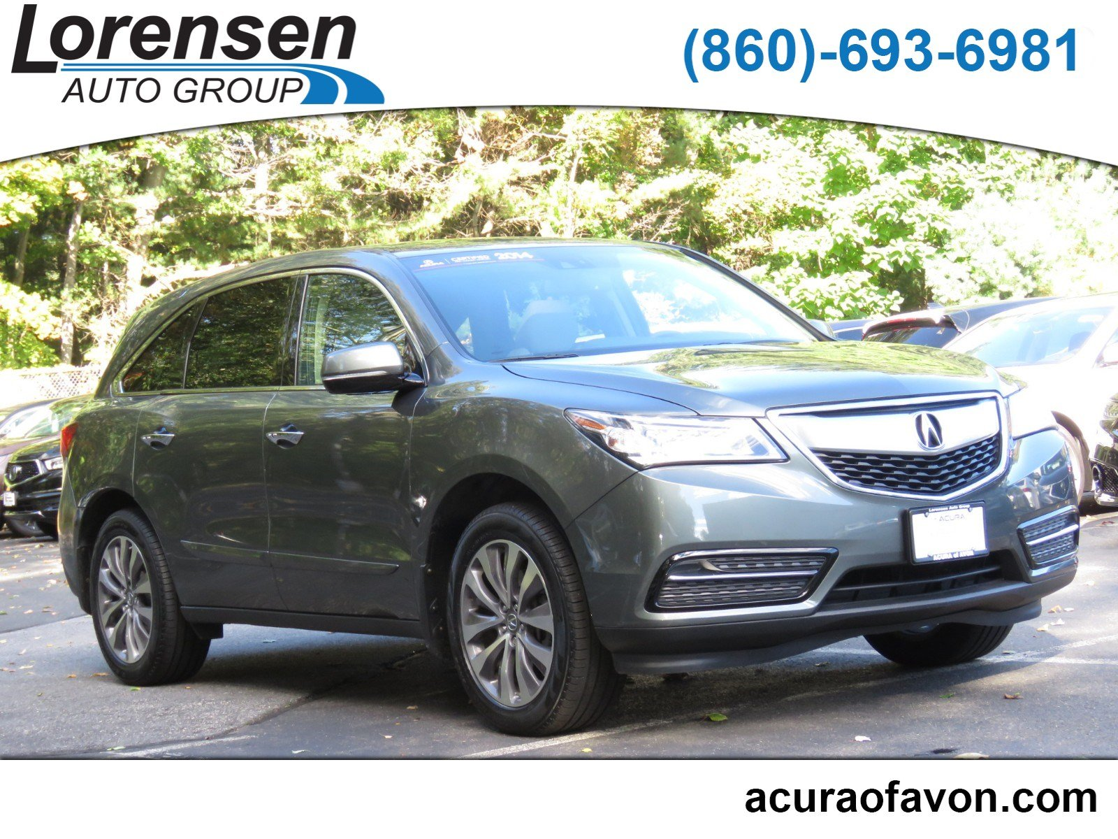 Pre Owned 2014 Acura MDX Tech Pkg Sport Utility in Westbrook A
