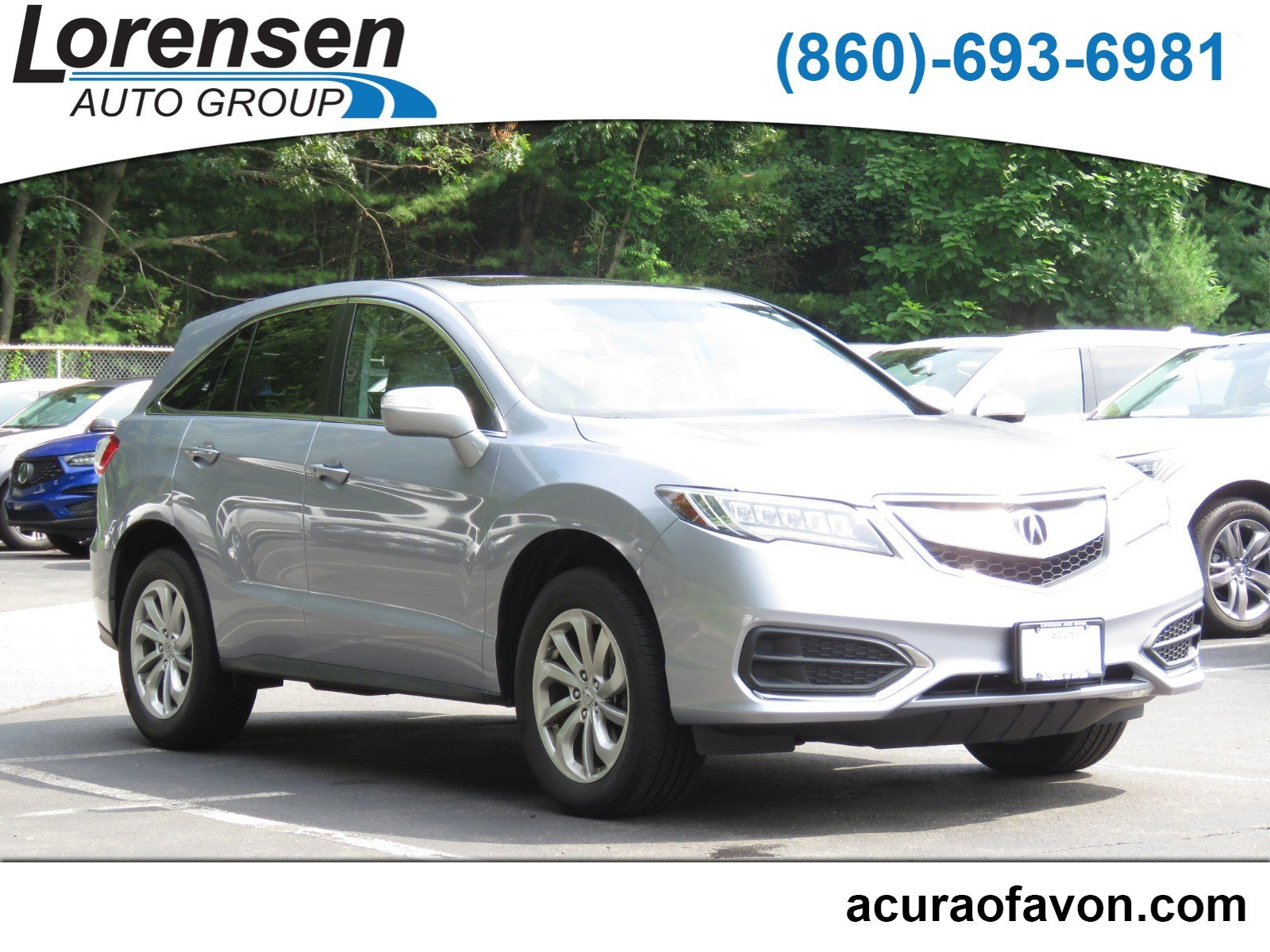 Pre Owned 2016 Acura RDX AWD 4dr Sport Utility in Westbrook 4086