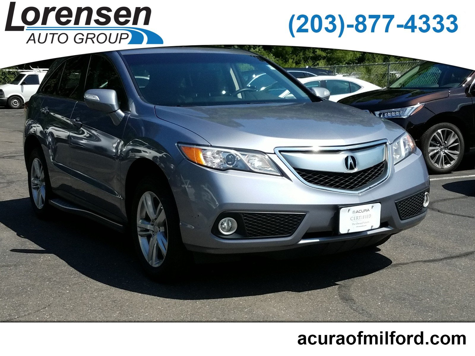 Pre Owned 2015 Acura RDX AWD 4dr Sport Utility in Westbrook 3707X