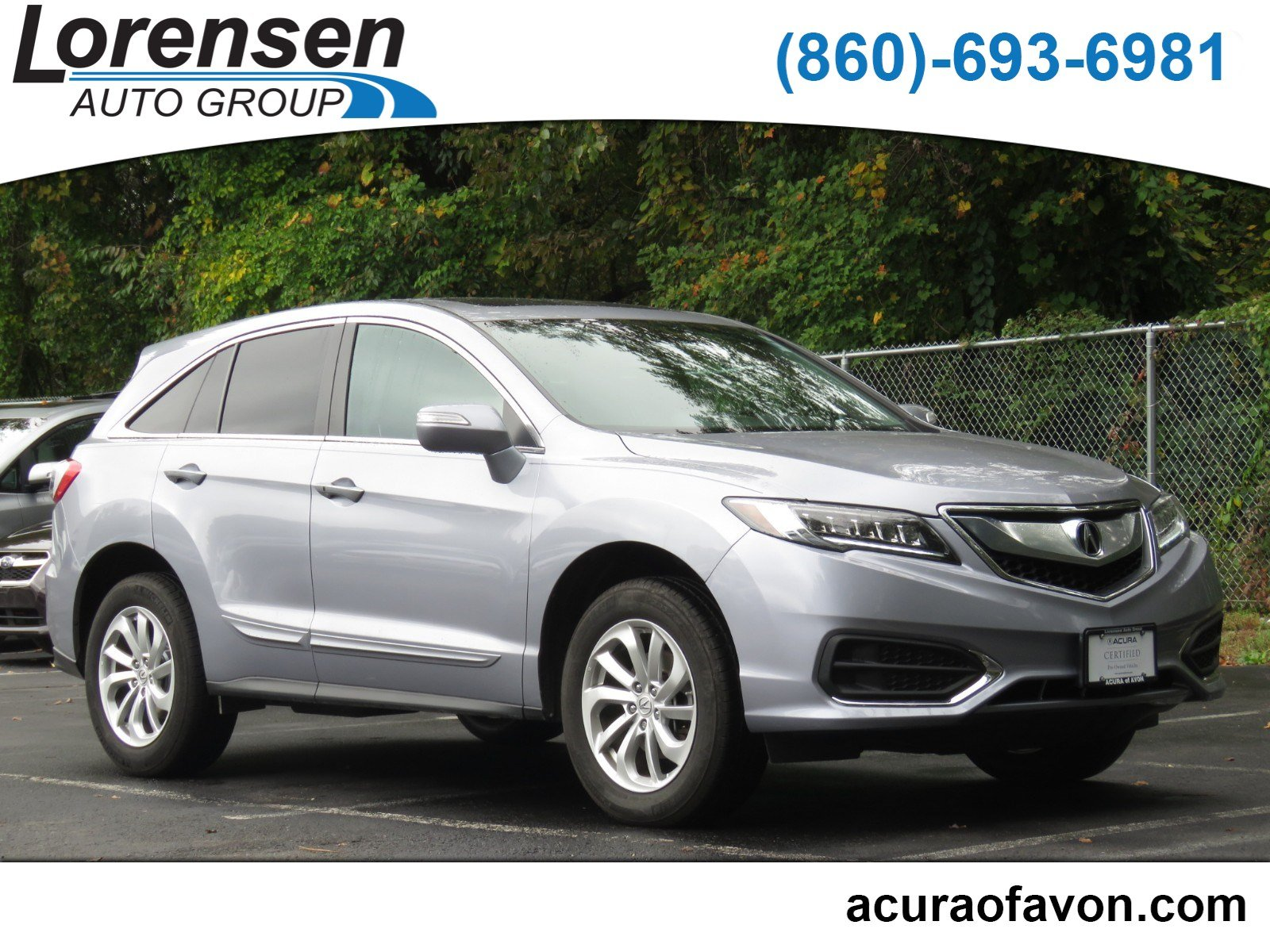 Pre Owned 2016 Acura RDX Tech AcuraWatch Plus Pkg Sport Utility in
