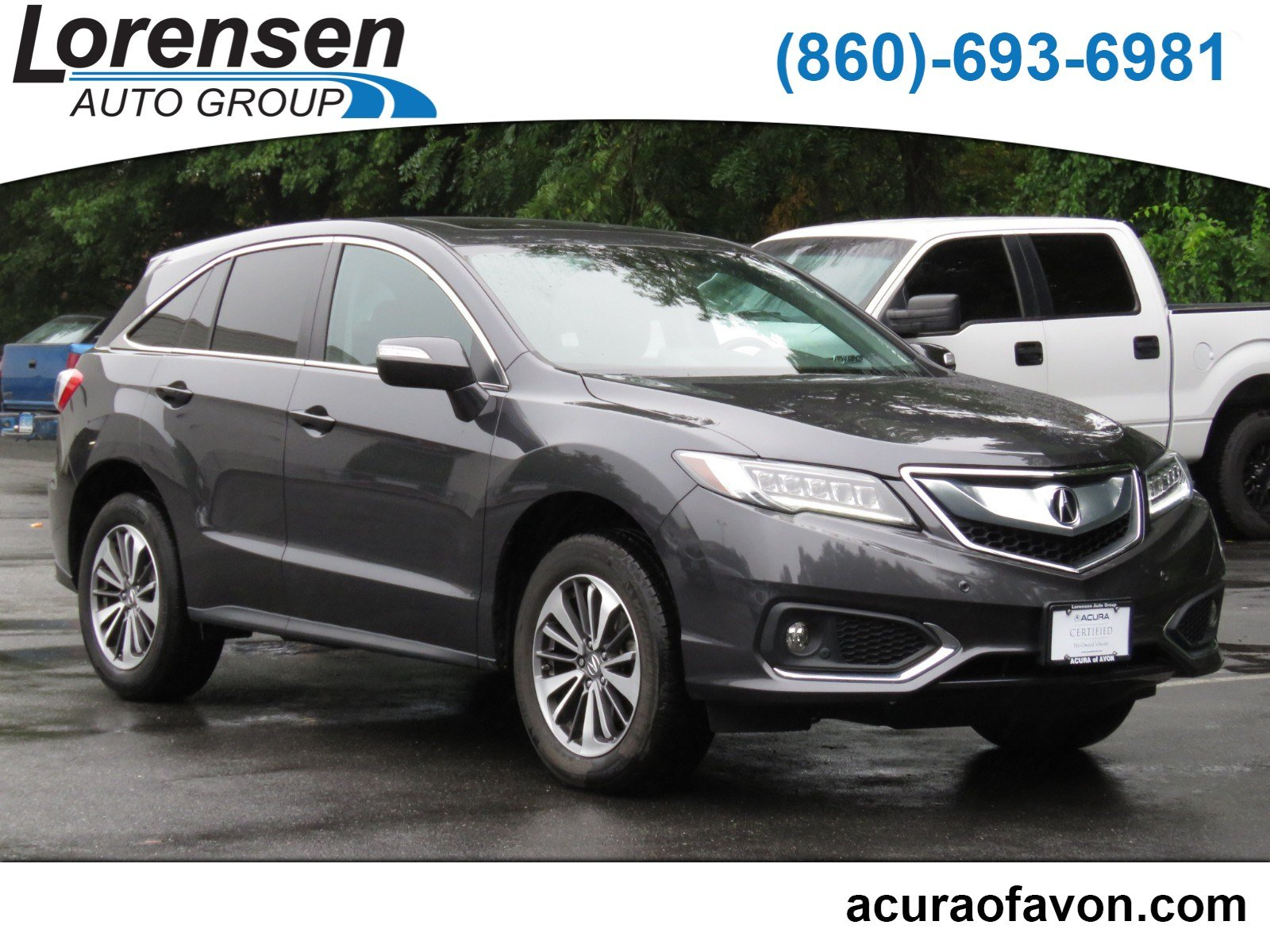 Pre Owned 2016 Acura RDX Advance Pkg Sport Utility in Westbrook
