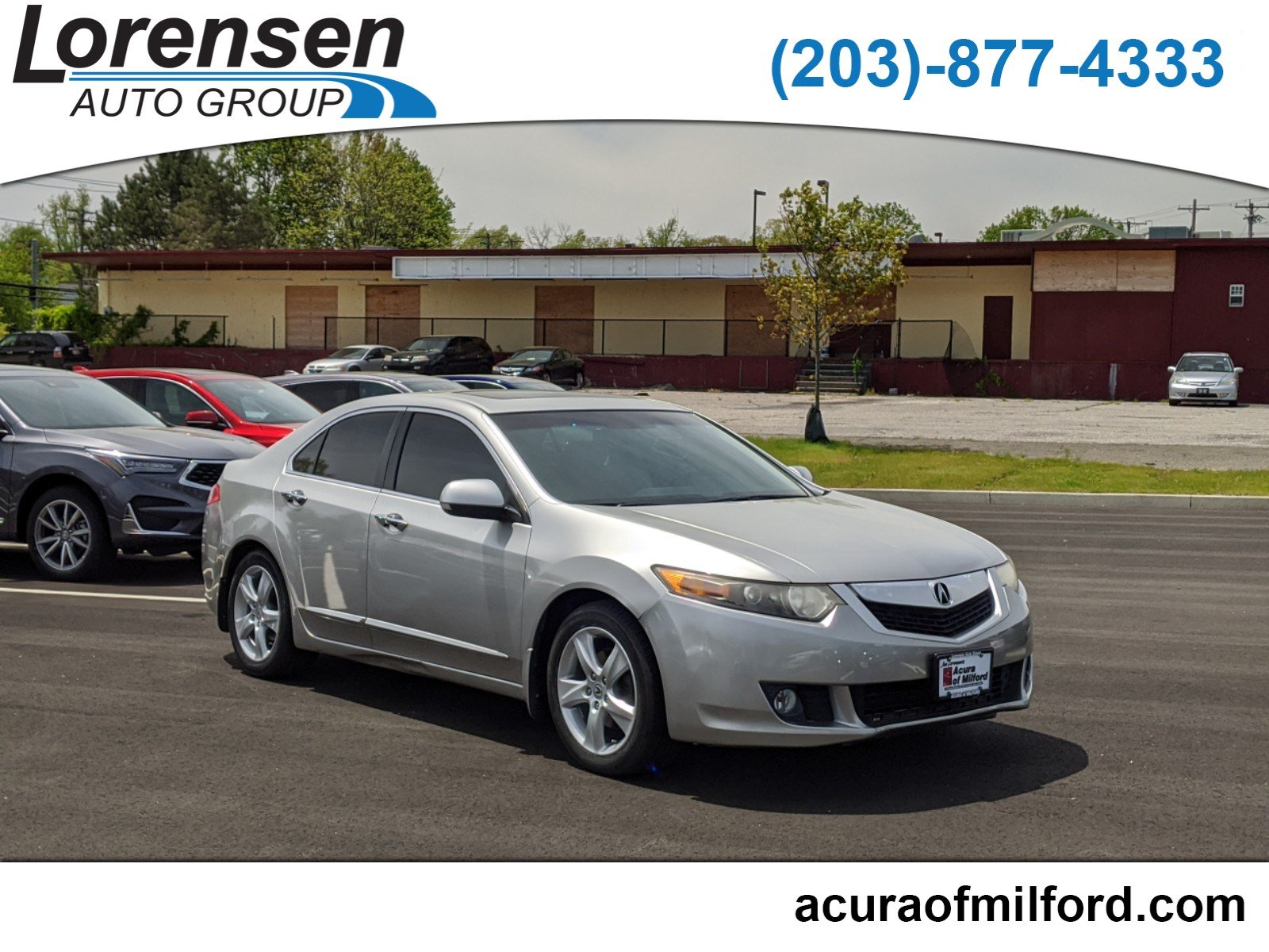 Pre-Owned 2010 Acura TSX 4dr Sdn I4 Auto