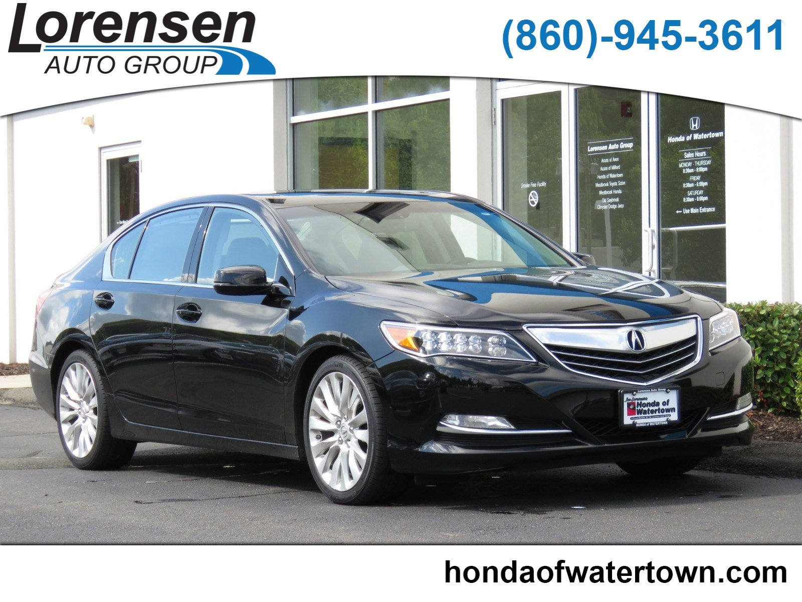 Pre Owned 2015 Acura RLX Advance Pkg 4dr Car in Westbrook
