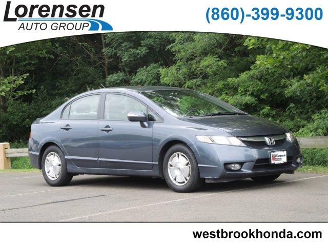 Pre Owned 2009 Honda Civic Hybrid 4dr Sdn 4dr Car In Westbrook