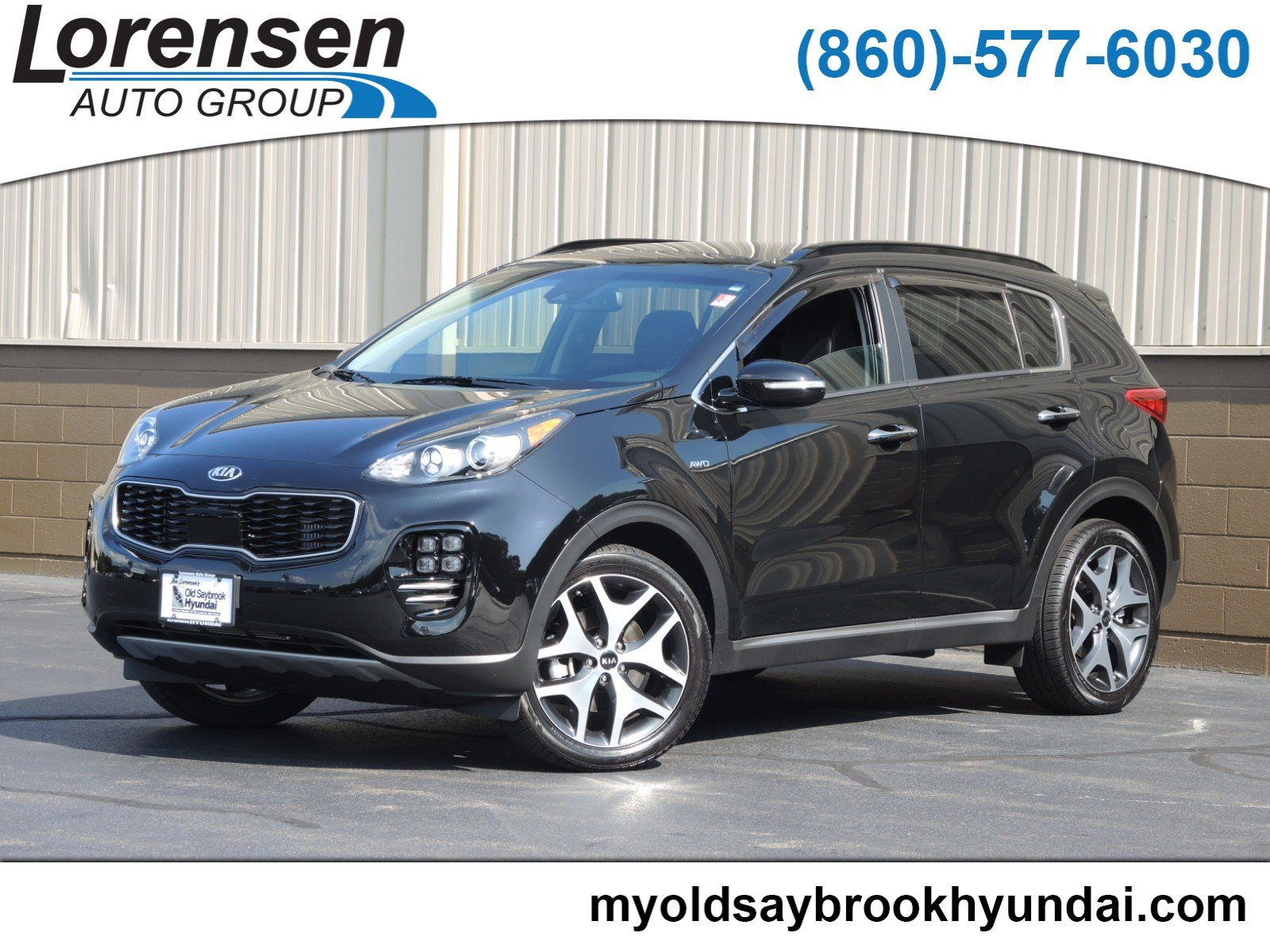 Pre-Owned 2019 Kia Sportage SX Turbo