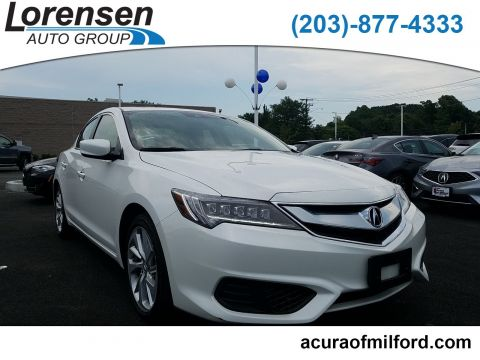 Pre-Owned 2017 Acura ILX w/Technology Plus Pkg