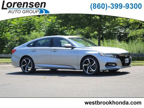 New 2019 Honda Accord Sport 2.0T Manual